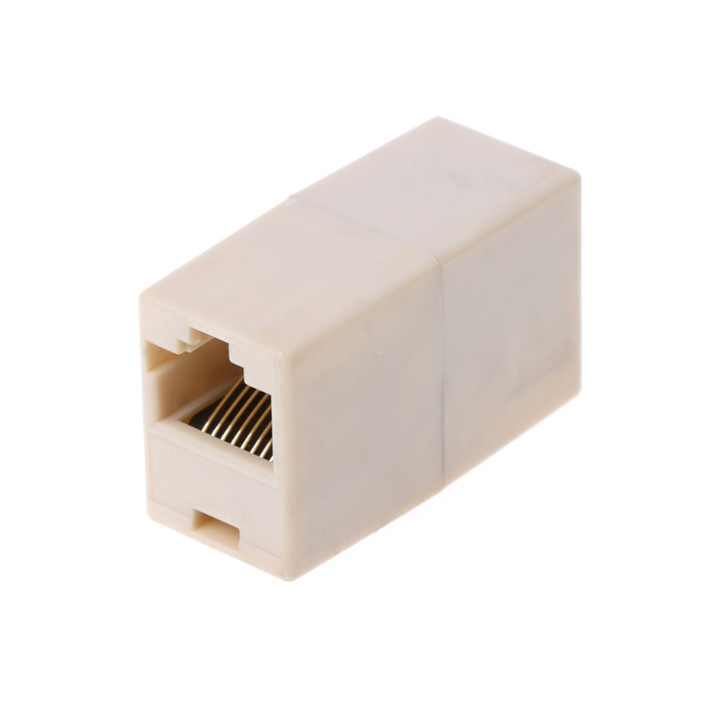 RJ45 CAT5 CAT5E ağ Ethernet Connector adaptörü